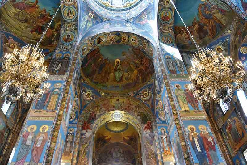 top things to do St petersburg Church of the Savior on Blood