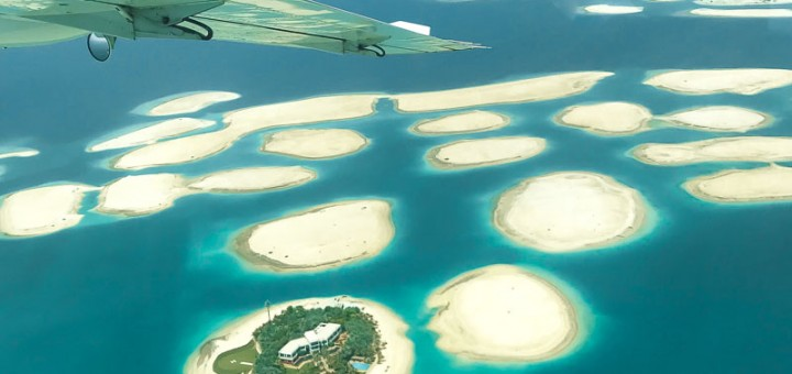 Seawings Dubai Seaplane view city attraction