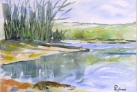 """""""Into the Wild"""" Watercolour painting"""