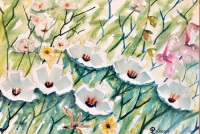 """""""Fields of Love"""" Watercolour painting"""