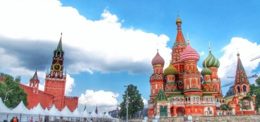 Red Square. Travel. Trapped in Russia