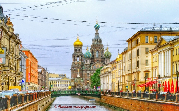Travel. St. Petersburg. Trapped in Russia forever