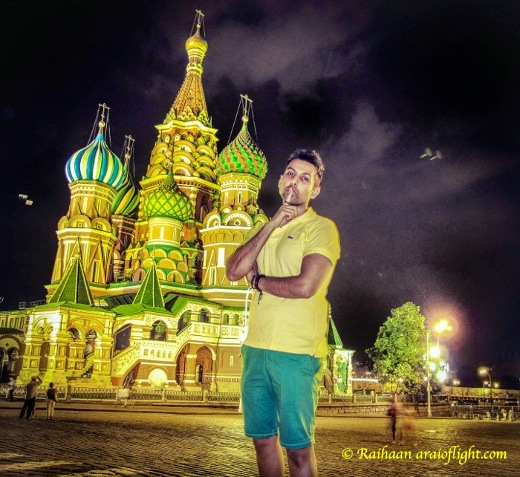 Travel. Saint Basil's Cathedral. Trapped in Russia forever