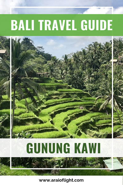 Find out why Pura Gunung Kawi Temple is my favourite sanctuary in Bali and everything you need to know about visiting. You will find information on where in Tampaksiring (near Ubud) to find Pura Gunung Kawi, the entrance fee, Bali temples dress code, opening hours, and the highly intriguing legend to this site. Things to do in Bali #Bali Sites to visit near Ubud #ubud #temple #gunungkawi
