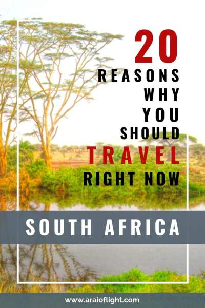 why travel to South Africa