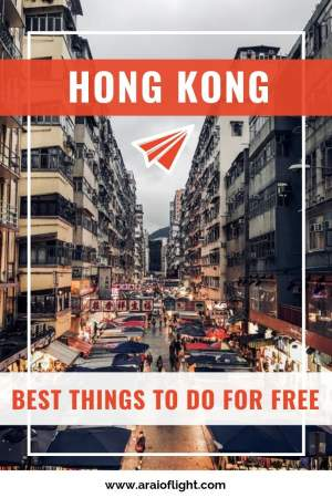 Hong Kong Itinerary. The best things to do in Hong Kong for free