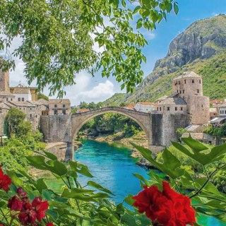 Stari Most Old Bridge Mostar Day trip Dubrovnik Things to do