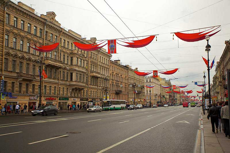 top things to do St petersburg Nevsky Prospect