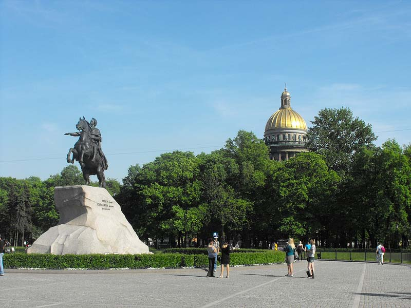 top things to do St petersburg Bronze Horseman