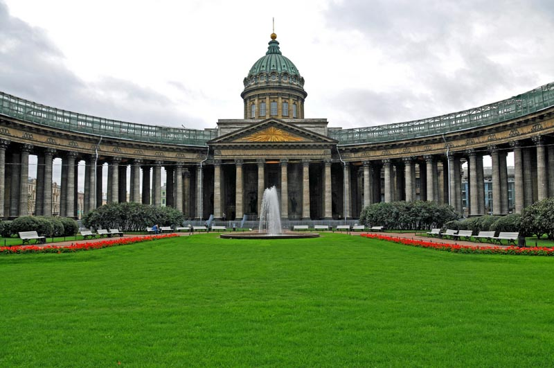 top things to do St petersburg Kazan Cathedral
