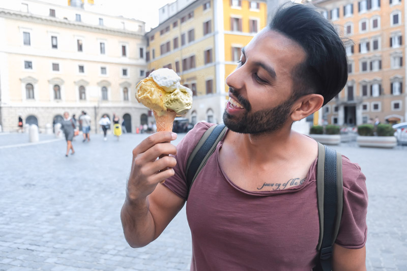 Where to find the Best Gelato Rome Italy