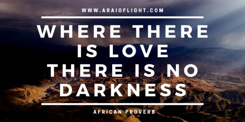 African Proverbs meanings Africa love Quotes Light