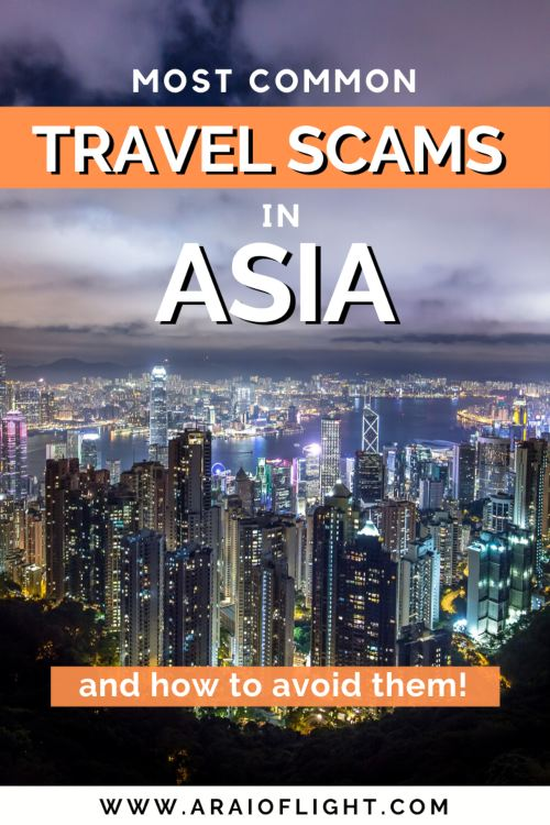 Planning a Trip to Asia: 7 travel scams to know about and how to avoid. Visit Asia: Solo Travel mistakes to avoid | Asia travel mistakes | Common travel mistakes | Travel Asia Tips