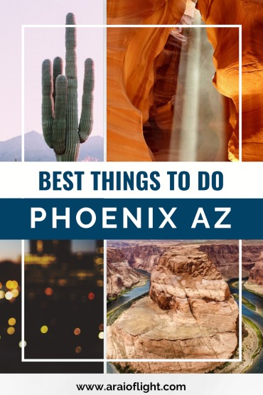 No road trip in the US is complete without a stop in Phoenix, the capital and most populous city of Arizona. The Valley of the Sun receives the most sunshine of any major city on Earth. But, it's not just great weather and sports that draw visitors to Phoenix. What follows are a couple of my most recommended attractions. #phoenix #arizona #travelguide phoenix travel phoenix arizona vacation things to do in phoenix az arizona travel phoenix phoenix things to do