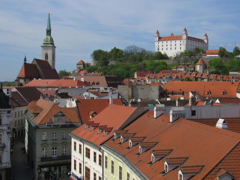 bratislava in one day old town view