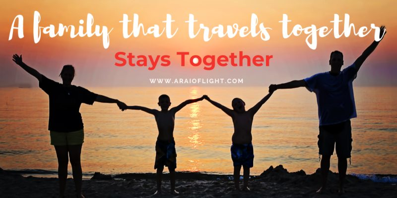 Family Travel quotes + Family Trip quotes to inspire your next getaway _ Quotes on family vacations _ Together quotes _ Quotes about families