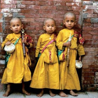Best time to visit Nepal children Buddhist
