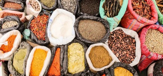 Egypt spices food market middle east