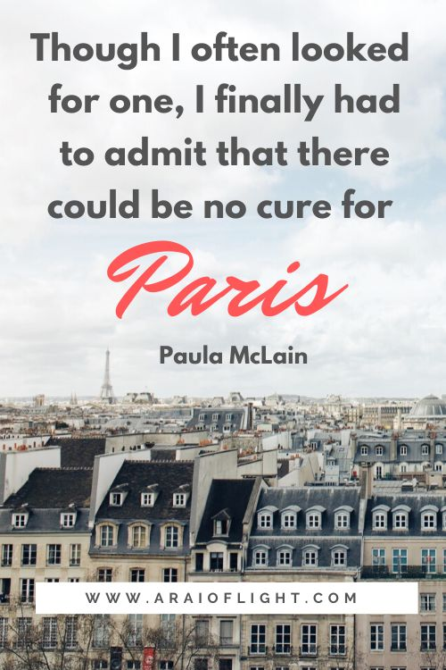 In love with Paris Quotes writing