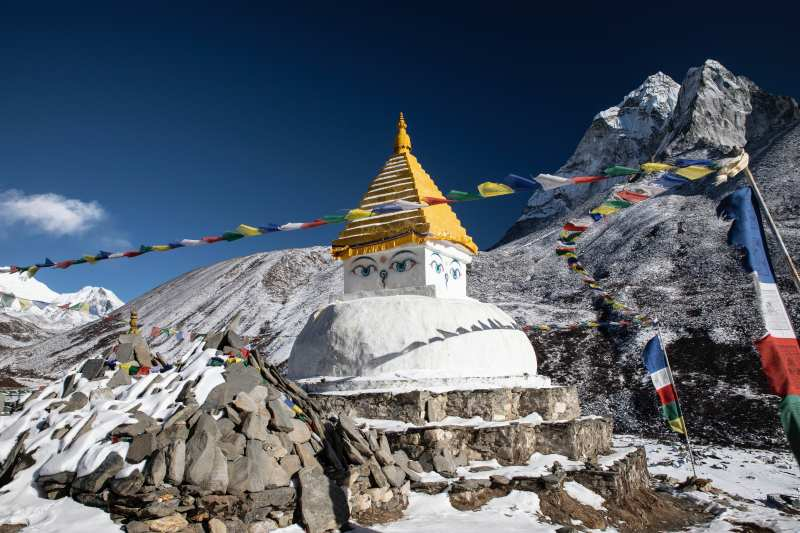 Nepal mountains Himalayas Everest best time to visit