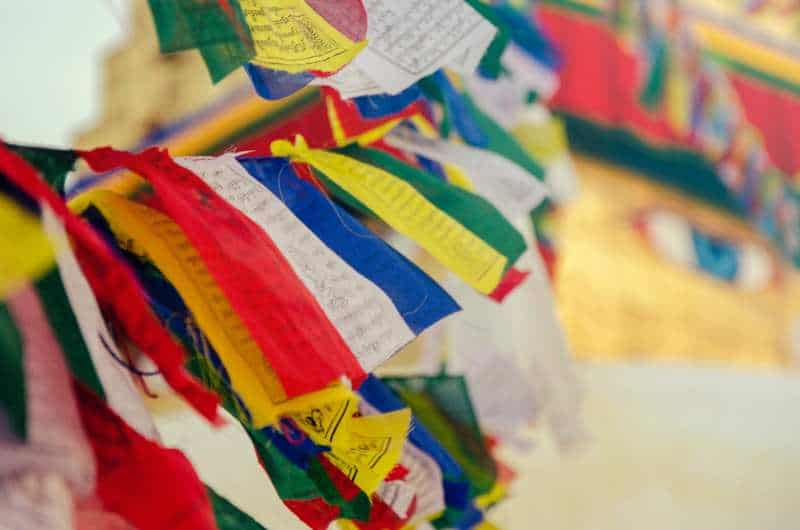 Nepal prayer flags best time to go travel