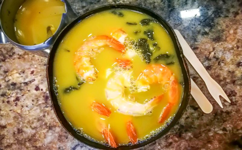 Tacacá Soup in Brasil Weird taboo food world