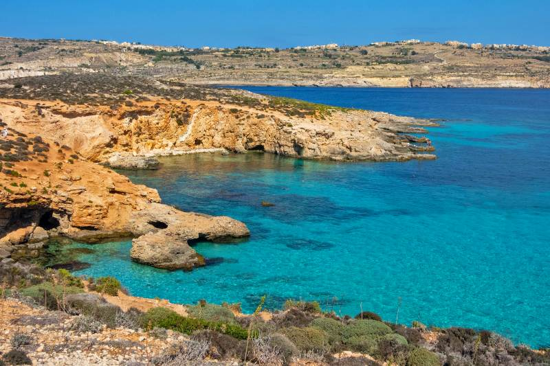 Crystal Blue Lagoon Malta attractions places to visit