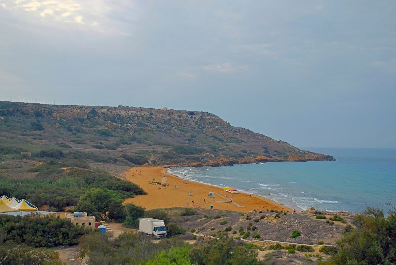 Visit Beautiful beaches of Malta things to do Ramla San Blas