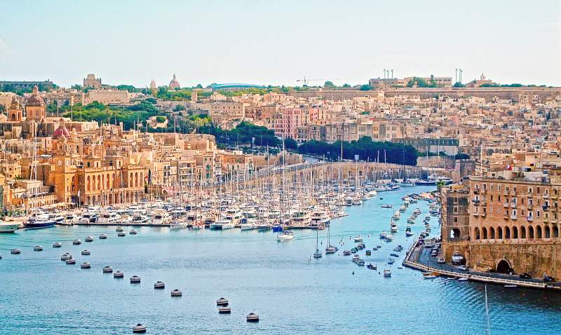 Visit three fortified cities of Mlata Birgu, Senglea and Cospicua