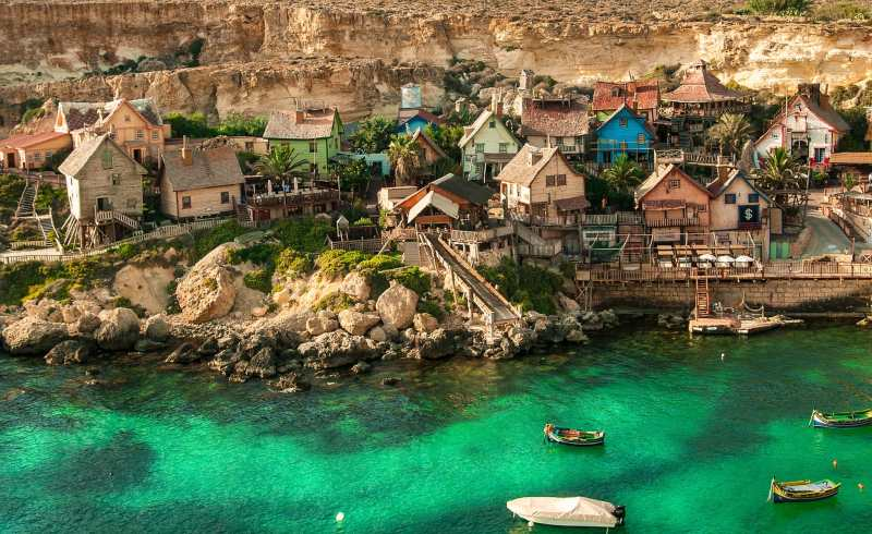 popeye village island Malta things to do places