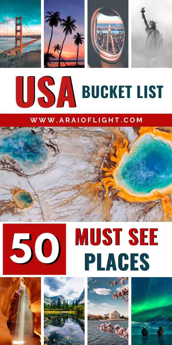 Usa Bucket List Travel Experts Reveal 50 Best Places To Visit In United States Of America